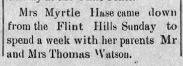 Myrtle Watson - Newspapers.com