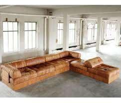 de sede ds88 sectional sofa in cognac