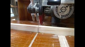 Zero Clearance Fence For The Radial Arm Saw Youtube