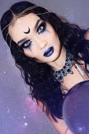 fortune teller makeup look