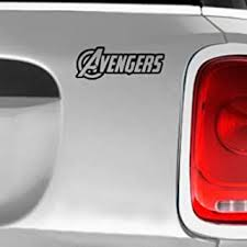 Amazon Com Sci Fi Comics Games Decals Avengers Automotive Decal Bumper Sticker Automotive