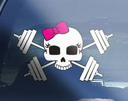 Weight Lifting Decal Etsy