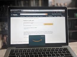 how to check an amazon gift card balance