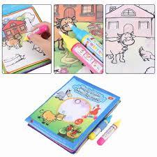 Nước cho bé Vẽ Sách Với 2 Nước Ma Thuật Vẽ Bút Tô Màu Động Vật Sách Cho Trẻ  Em Doodle Thảm Giáo Dục Đồ Chơi Học Tập 2019 