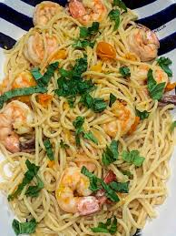 Shrimp Pasta with Cherry Tomatoes ...