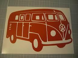 Vw Bus Vinyl Decal By Justsaynoriega On Deviantart