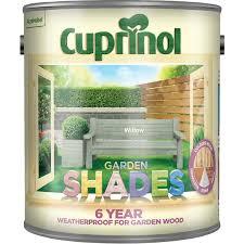 Cuprinol Garden Shades Exterior Paint 2 5l Willow