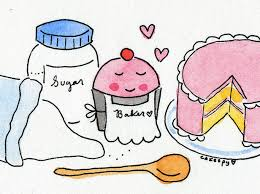 7 Cartoon Baking Cupcakes Photo - Baking Cupcakes Cartoon, Baking ...