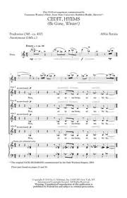 Abbie Betinis: Cedit Hyems (Be Gone, Winter!): SSAA | Musicroom.com