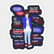 bts jungkook quotes jungkook sticker teepublic