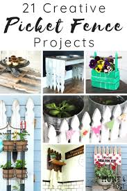 Creative Picket Fence Projects Salvaged Living