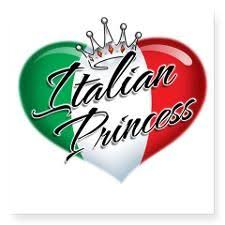 Cp1013 Italian Princess Sticker Square Cp1013 Italian Princess Square Sticker 3 X 3 By Admin Cp6617673 Cafepress Princess Sticker Italian Quotes Italian