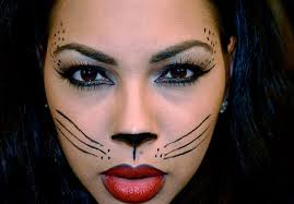cat face for with makeup
