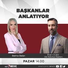 İlhan Ocaklı - 31 Mayıs Pazar günü saat 14.00'de Beyaz TV 'de yayınlanan'  Başkanlar Anlatıyor' programına canlı yayın konuğu olarak Şile'mizi  anlatacağım.
