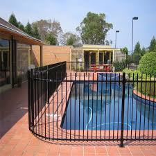 China Galvanized Steel Stainless Steel Fence Panel Pool Fence China Fence Stainless Steel