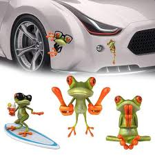 Graphics Peep Truck Vinyl 3d Frog Sticker Car Decal Buy At A Low Prices On Joom E Commerce Platform