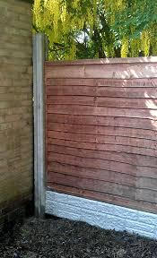 Fence Repair Concrete Fence Repair