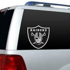 Oakland Raiders Nfl Licensed Large Window Film Decal Sticker Free Shipping Ebay