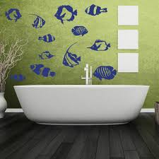 Fish Wall Decal Set Style And Apply