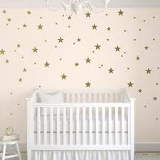 Toarti Stars Wall Decals 124 Decals Wall Stickers Removable Home Decoration Easy To Peel Stick Painted Walls Metallic Vinyl Polka Wa