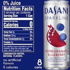 dasani sparkling pomegranate blueberry