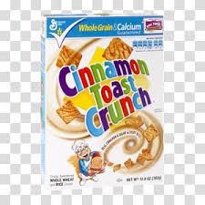 cinnamon toast crunch transpa