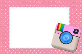 Fiesta De Instagram Invitaciones Para Imprimir Gratis Oh My