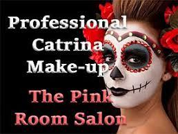 catrina makeup at the pink room beauty