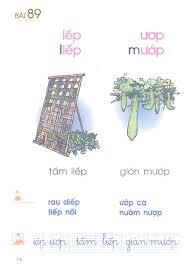 Bài 89. iêp, ươp - Sách Giáo Khoa Tiếng Việt lớp 1 Tập 2 - Sách Lớp 1