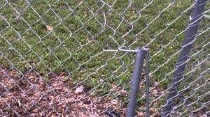 How To Patch And Repair A Chain Link Fence Diy Chain Link Fence Chain Link Chain Fence