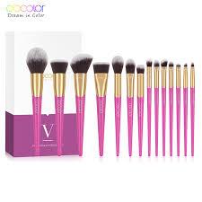 ems docolor 14 pieces makeup brush set