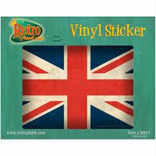 British Flag Union Jack Vinyl Sticker England Uk Travel Laptop Luggage Car Decal For Sale Online Ebay
