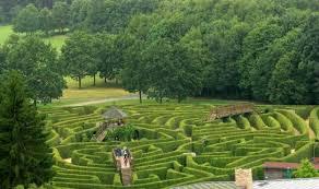 Drielandenpunt Labyrinth, designed by Adrian Fisher | from Garden Design |  Labyrinth garden, Garden design, Landscape design