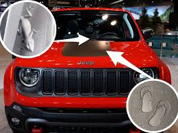 Jeep Owners Sharing Easter Eggs And Hidden Shapes On Cars Insider