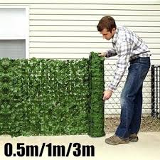 Artificial Hedge Roll Screening Ivy Leaf Garden Fence Privacy Screen 1mx0 5 1 5m Buy At A Low Prices On Joom E Commerce Platform