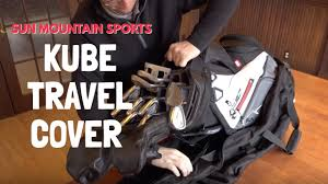 kube travel golf cover sun mountain