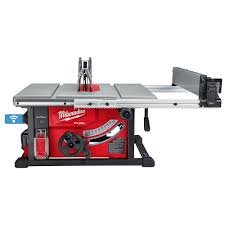 Milwaukee Tool M18 Fuel One Key 18v Lithium Ion Brushless Cordless 8 1 4 Inch Table Saw Ki The Home Depot Canada