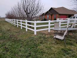 Recent Project Vinyl 3 Rail Ranch Style Fence Meridian Fence
