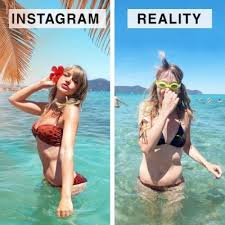 Blogger shows the real differences between reality and Instagram : theCHIVE