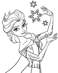 Elsa Colouring Pages Free Tags : Elsa Coloring Pages Free Lego Ninjago  Coloring Pages. Halloween Pictures to Color.