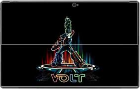 Amazon Com Voltron Tron Crossover Art Vinyl Decal Sticker Skin By Mwcustoms For Surface Rt Computers Accessories