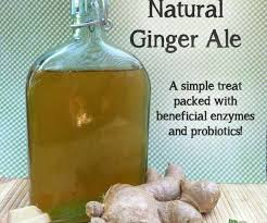 how to make healthy ginger ale
