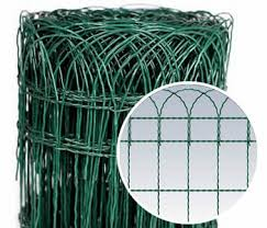 Industrial Electronics Installation Green Wire Fencing Roll