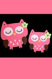 pink owls iphone wallpaper hd