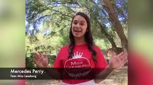 Lake Front TV-City of Leesburg's Channel - Teen Miss Leesburg Mercedes Perry  PSA | Facebook