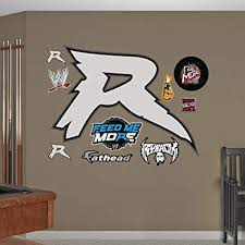 Buy Fathead Wall Decal Real Big Wwe Ryback Logo Online At Low Prices In India Amazon In