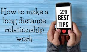 21 tips to a successful long distance
