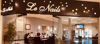 le nails nail salon in novi michigan