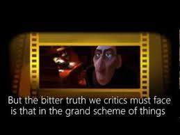 pixar s message to critics excerpt from brad bird s ratatouille