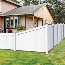 Freedom Bolton 6 Ft H X 7 Ft W White Vinyl Flat Top Fence Panel In The Vinyl Fence Panels Department At Lowes Com